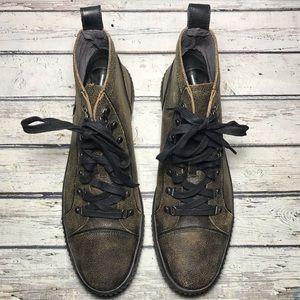 John Varvatos Men's High Top Sneakers